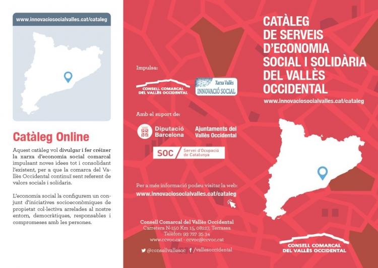 Catàleg de serveis d'economia social i solidària del Vallès Occidental