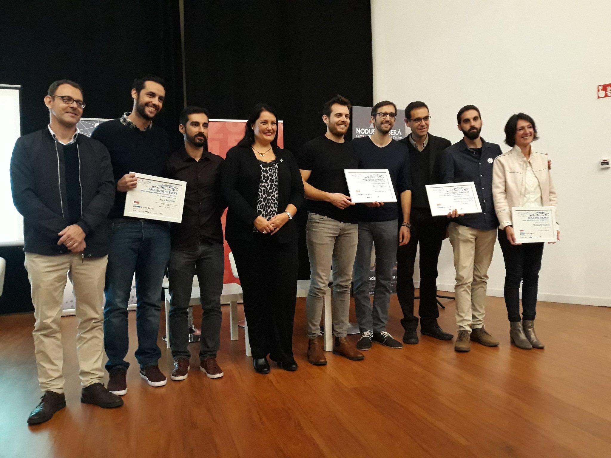 El 5è Concurs d'Idees Innovadores ja té els 4 guanyadors!